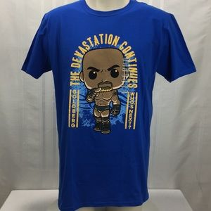 Funko Pop XXL WWE Goldberg Graphic Tee Shirt D7